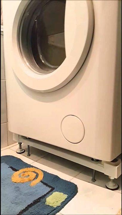 Anti-vibration représente les options de photo de machine à laver