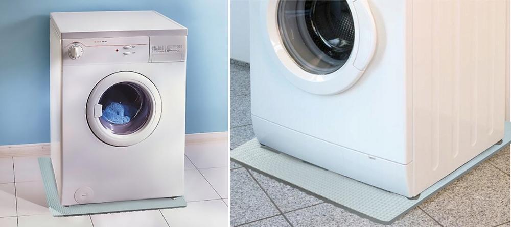 Support anti-vibration pour machine à laver photo