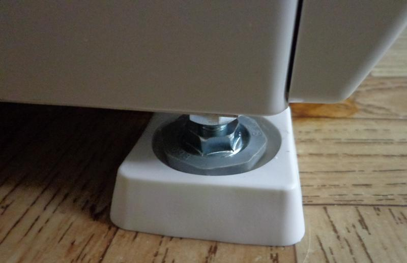 Des supports anti-vibrations pour des idées de machines à laver