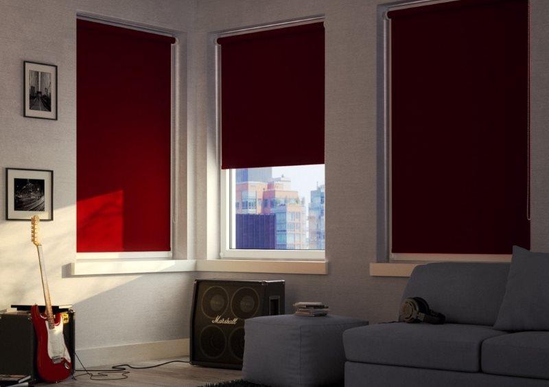 Un exemple d'ombrage d'une pièce avec des volets roulants