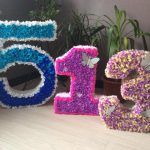 chiffres et lettres de serviettes de table bricolage idées de décoration
