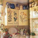 decoupage murs de cuisine