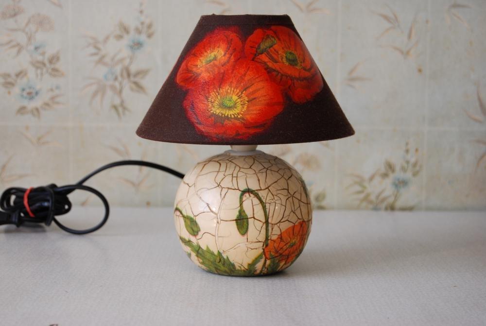 decoupage de lampadaire