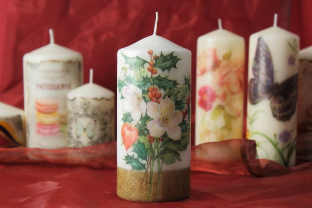 bougies de découpage