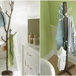 houder voor handdoeken in de badkamer doe het zelf interieur