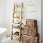 houder voor handdoeken in de badkamer doe zelf ladder