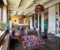patchwork tapis décor photos