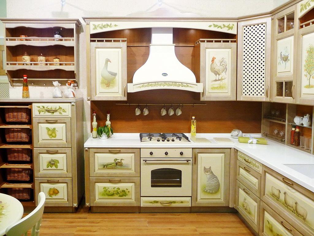 découpage des meubles de cuisine