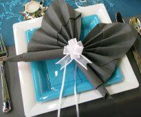 décoration de table en papier