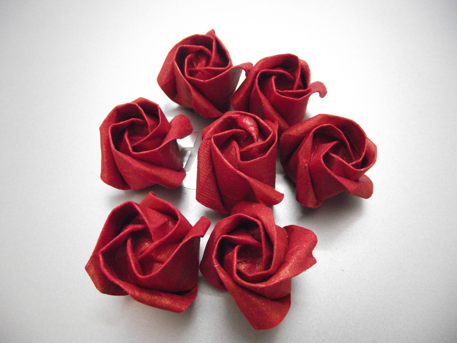 origami servetten steeg op