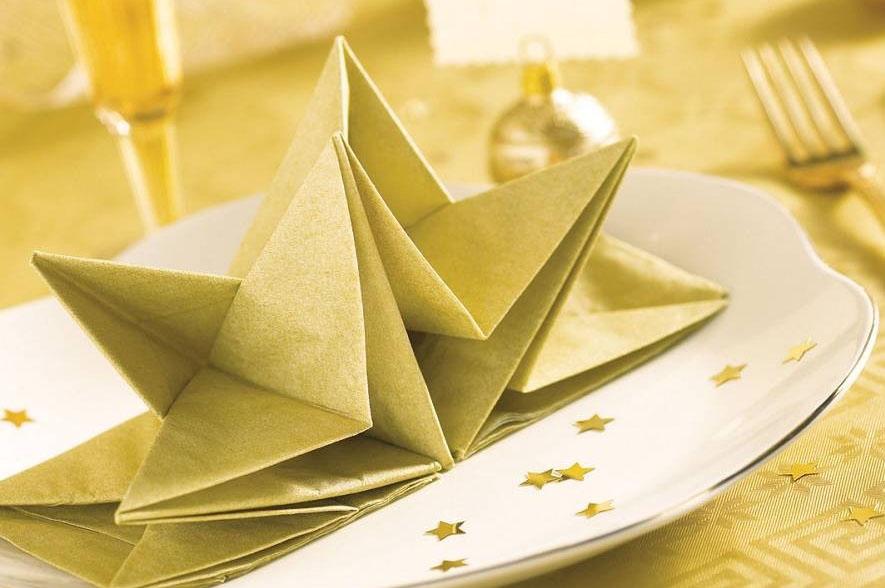 origami servetten