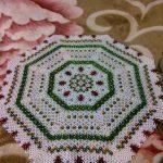 photo de conception de perle de serviette