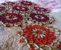 idées de conception de perles de serviette