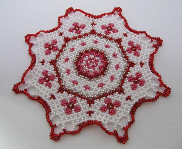 idées de serviette perle