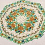 idées de décoration de serviettes en perles