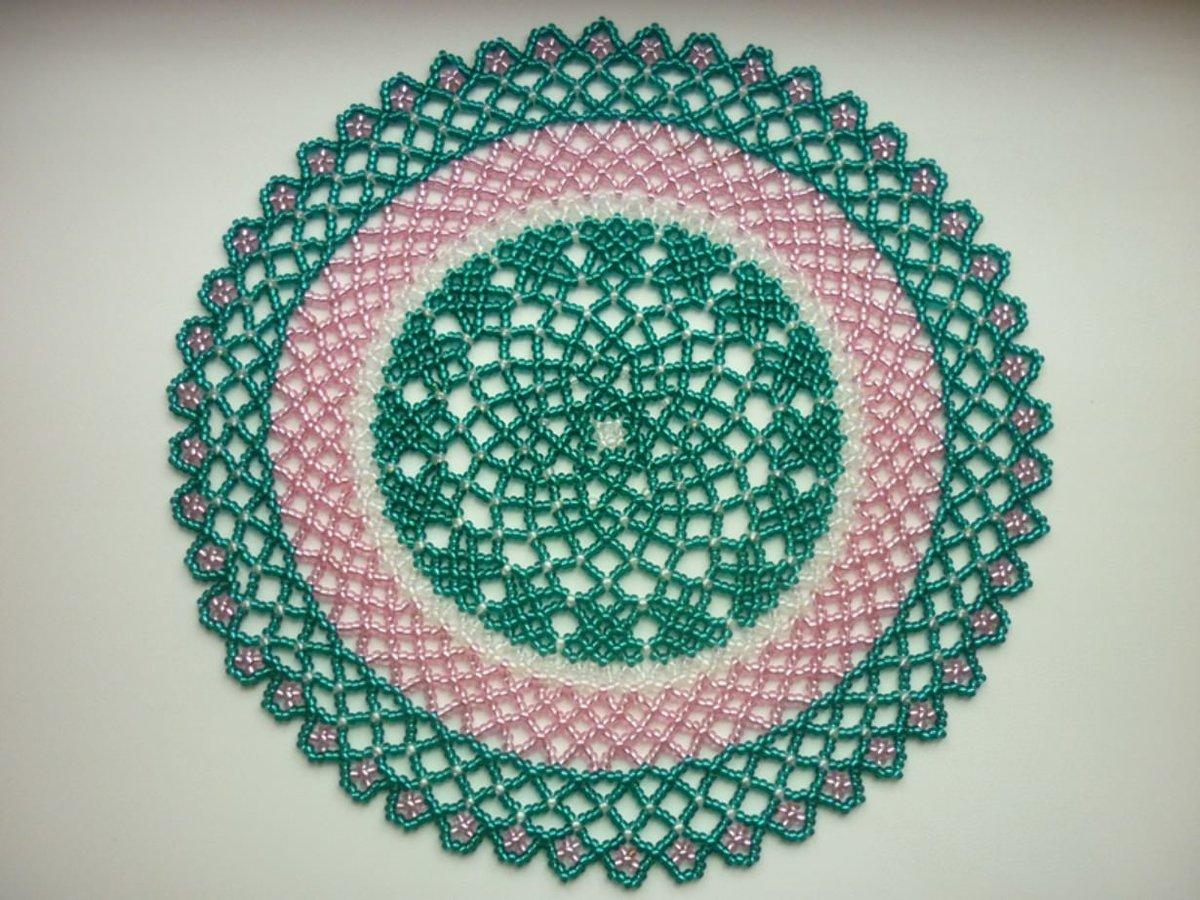 conception photo perle serviette