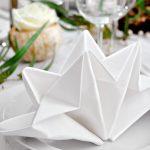servetten voor tafel decoreren van ideeën