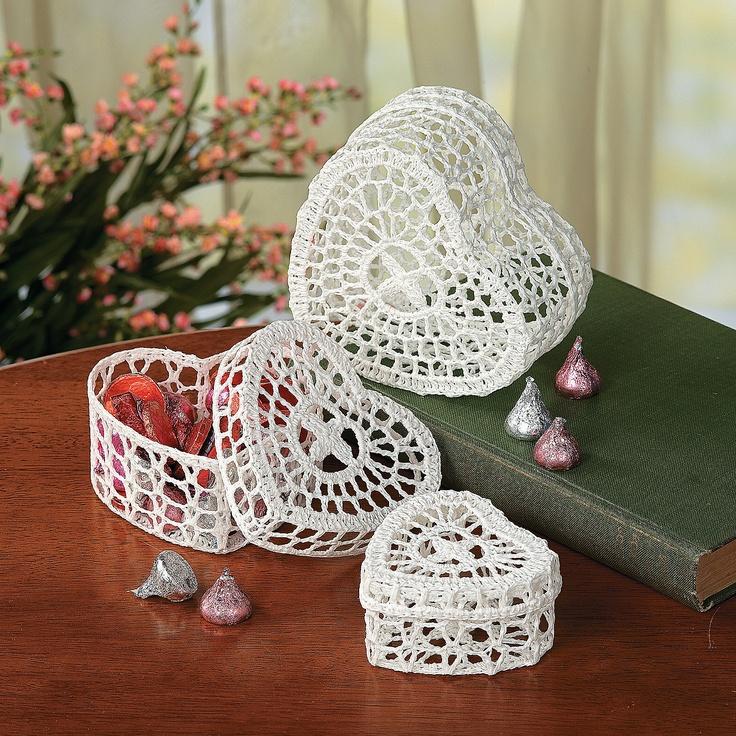 crochet bijoux boite decor photo