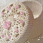 crochet boîte à bijoux photo