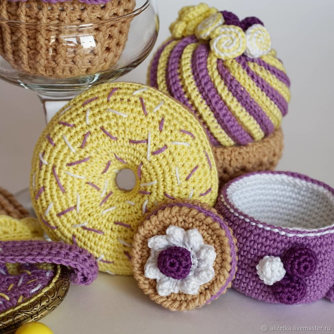 idées de photo de boîte de bijoux de crochet