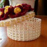 idées de décor de boîte de bijoux de crochet