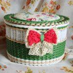 idées de décoration de boîte à bijoux au crochet