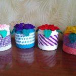 photo de décoration de boîte au crochet