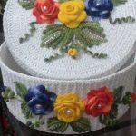 idées de décoration de boîte de crochet