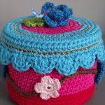 photo de conception de boîte de bijoux de crochet