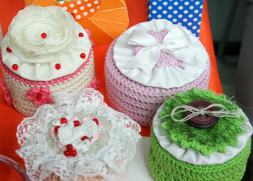 conception d'idées de boîte de bijoux de crochet