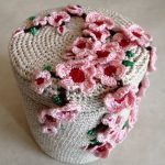 pommier au crochet en fleurs