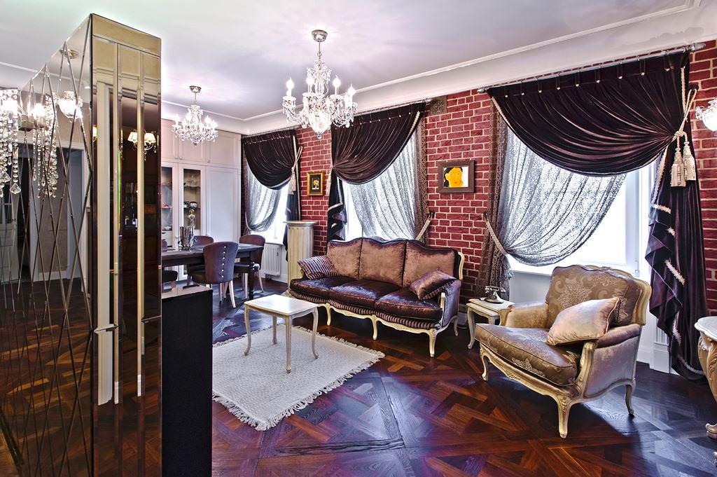 Langsir Cantik Di Ruang Tamu Dengan Gaya Moden Contoh Dan Gambar Di Pedalaman