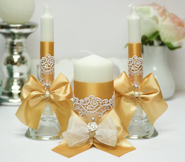 bougies de mariage idées de décoration