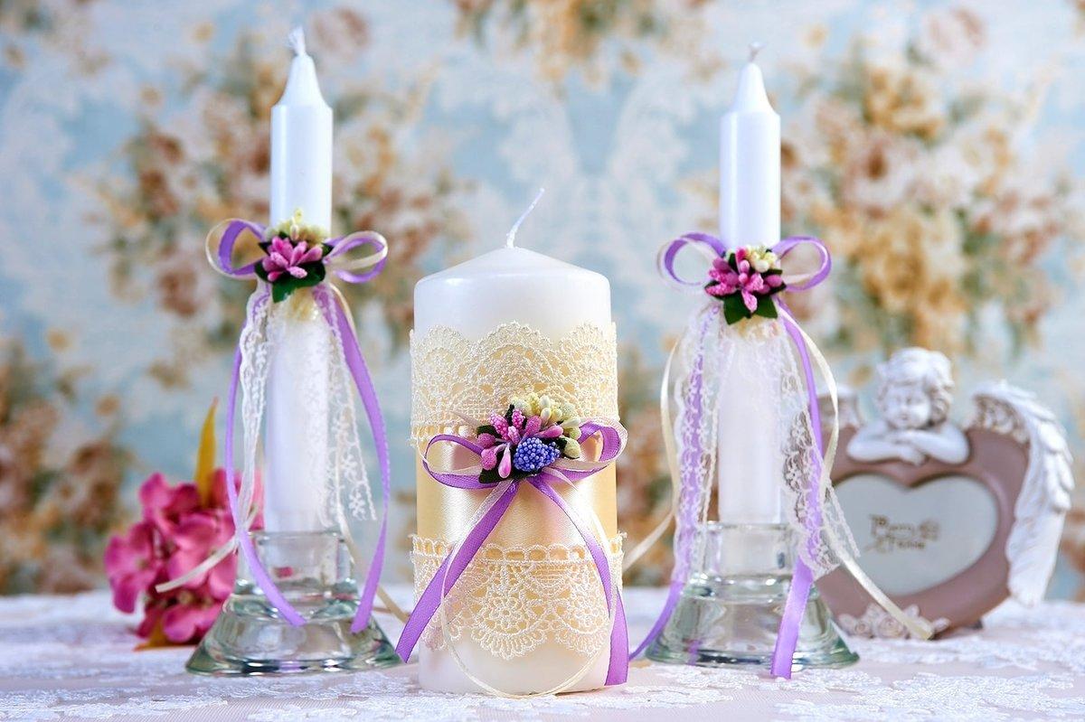 conception de bougies de mariage