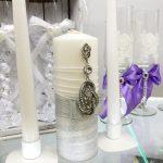bougies de mariage dédouanement photo
