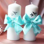 bougies de mariage à faire soi-même