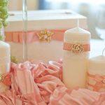 options de photo de bougies de mariage