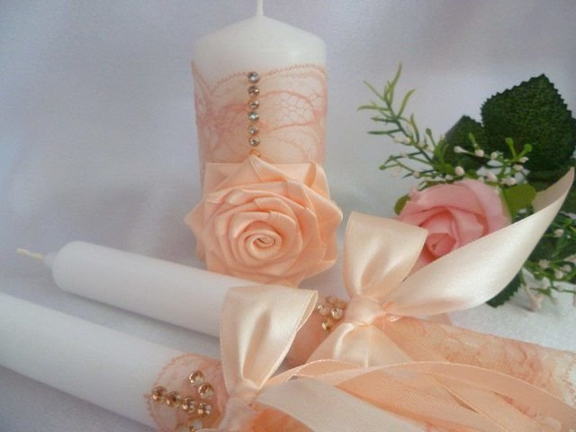 options de bougies de mariage