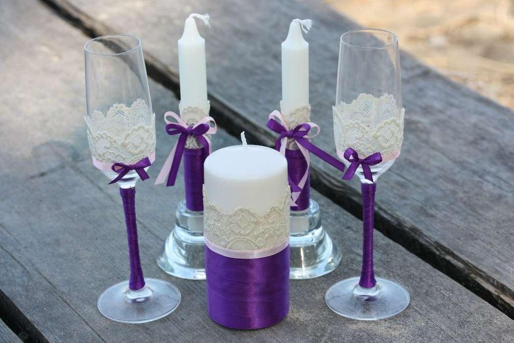 photo de conception de bougies de mariage