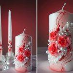idées de conception de bougies de mariage
