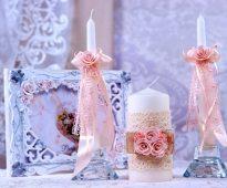 bruiloft kaarsen foto-ideeën