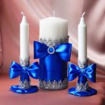 bougies de mariage options idées