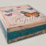 photo de conception de boîte à bijoux de découpage