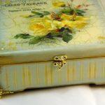 decoupage bijoux boite photo decor