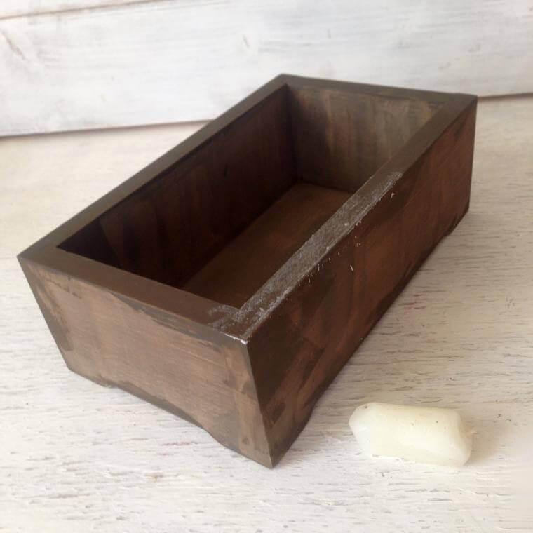 boîte à bijoux de découpage