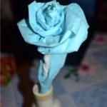 roses de serviettes photo design