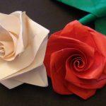 roses de serviettes photo idées