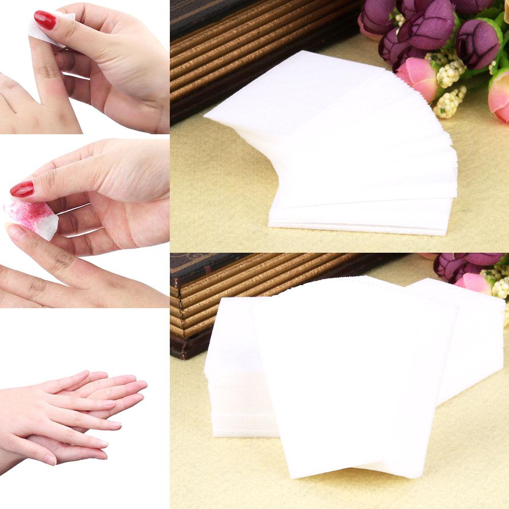 serviettes non pelucheuses pour la photo de vernis gel