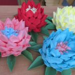 conception de serviette de lotus