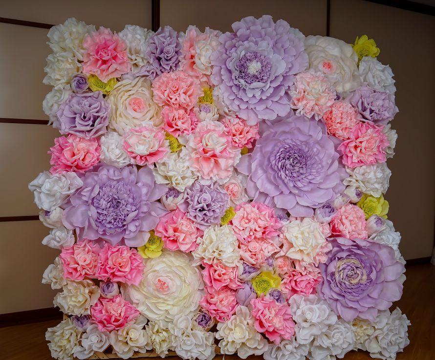 fleurs de serviettes photozone